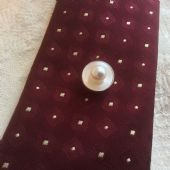 Japanese Akoya Cultured Pearl Tie Pin on 14ct White Gold - Vintage 1960s to 1970s